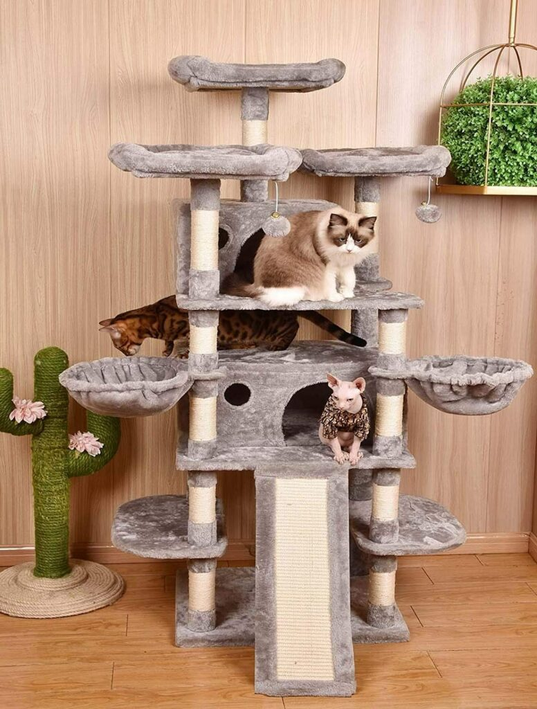 best-cat-condos-for-large-cats